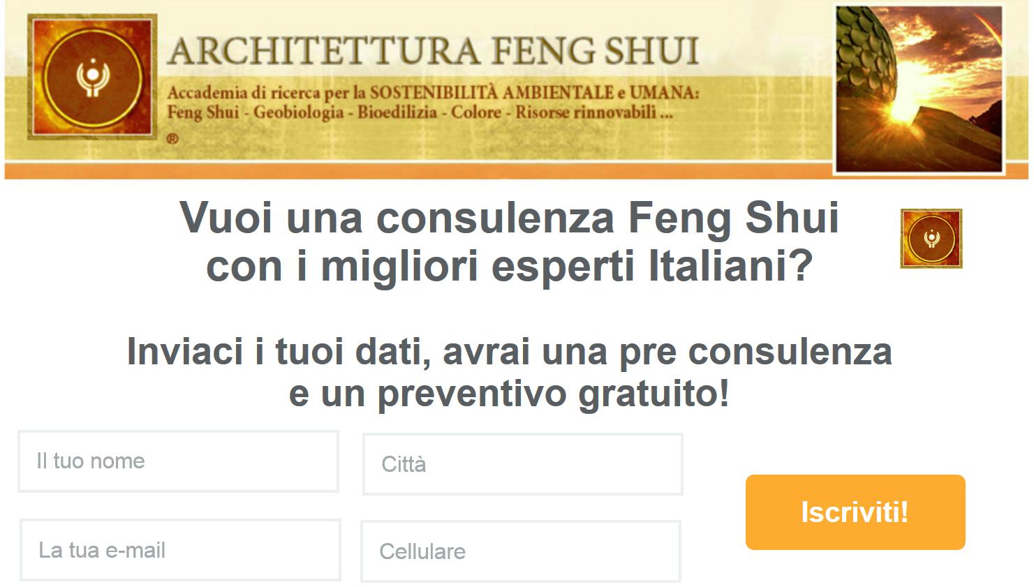 Consulenza feng shui