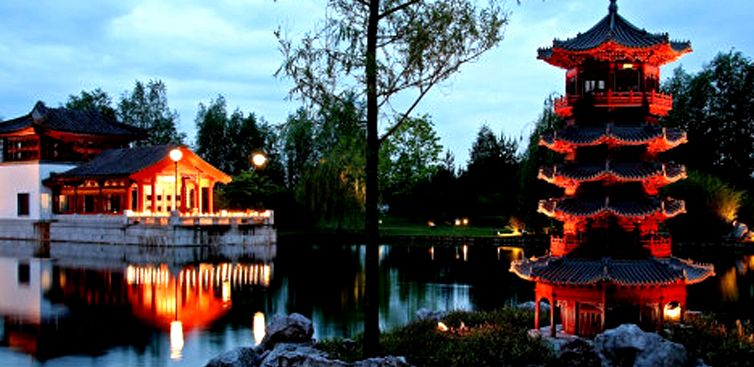 Corsi master architettura feng shui for Giardino cinese
